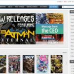 Amazon Buys Comixology screen grab