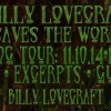 Billy Lovecraft Saves The World Blog Tour