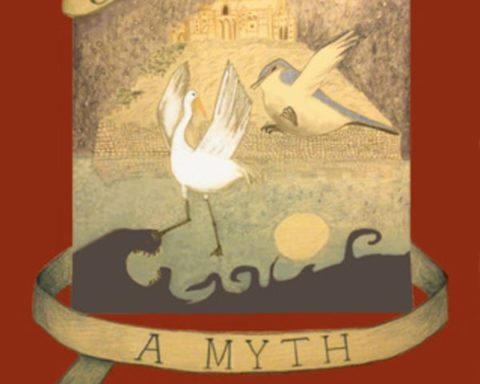 a myth to the night book cover showing a mythical scene for A Myth To The Night - REVIEW